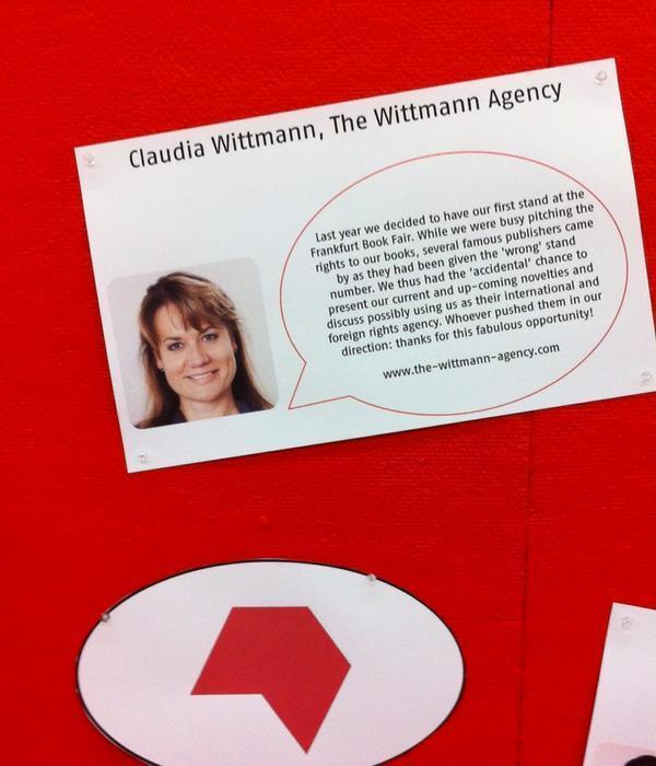 Frankfurt Book Fair: Claudia Wittmann's Serendipity Story